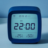 CGD1 Mini Multifunction Bluetooth Alarm Clock Temperature / Humidity Monitor Night Light