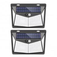 Outdoor Human Motion Sensing Lamp Solar-powered Wall Light