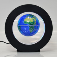 3.0 Inch Magnetic Levitation Floating Globe Map w/LED Light Home Decoration