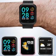 P68 Bluetooth Smartwatch IP68 Waterproof Heart Rate Monitor Sports Tracker Smart Watch