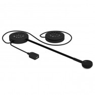 MH02 Bluetooth Motorcycle Helmet Headset BT5.0 Handsfree Calls Headphone Long Standby Earphone with Stereo Sound