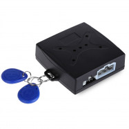 Car RFID Anti-theft Hidden Lock Security Alarm System One Key Startup for DC 12V Vehicles