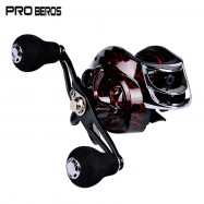 PRO BEROS DW121 Metal Fishing Reel Aluminum Alloy 18 + 1 Ball Bearings Spool