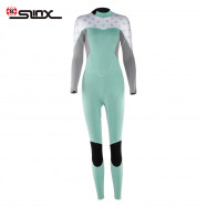SLINX 2mm Female Long Sleeves Sunscreen High-elastic Ultra-thin Surfing Diving Wetsuit
