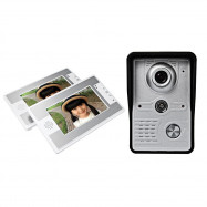 SY812MKW12 7 Inch TFT Color LCD Screen Night Vision Video Door Phone Intercom Doorbell