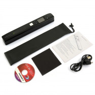 Smartlife Portable Scanner Magic Wand with Color LCD Screen Micro SD Card Reader WiFi Function