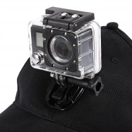 Baseball Hat with Quick Release Buckle Mount for GoPro Action Camera