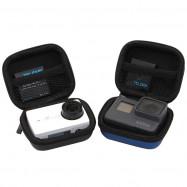TELESIN Mini Action Camera Protective Case Storage Bag for YI 4K / GoPro