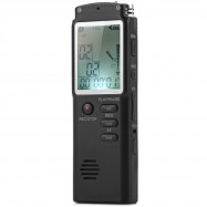 T60 High Fidelity 8GB LCD Time Display Digital Voice Recorder MP3 Player