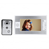 SY812MKW11 7 Inches TFT Screen Video Interphone Infrared Night Vision Doorbell Intercom