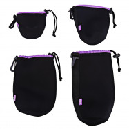 CADEN H111 Protective Soft Neoprene Camera Lens Pouch Bag Case for DSLR