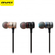 AWEI ES - 70TY 3.5MM Plug Stereo Music Deep Bass In-ear Earphones Headphones