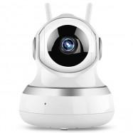 WiFi Remote Control Multifunction Infrared Night Vision Monitor IP Camera 1080P US Plug