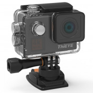 ThiEYE T5 Edge Live Stream Version Native 4K WiFi Action Camera with Voice Commands Remote Control