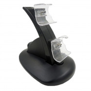 Dual USB Charging Charger Docking Station Stand for PS4 Controller