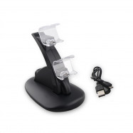 Dual USB Charger Charging Station Stand for Sony PlayStation 4 PS4 / PS4 Pro Controller
