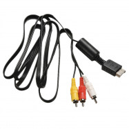 RCA AV Audio Video Cable Cord for Sony Play Station 1 2 3 PS1