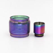Iwodevape Accessories HorizonTECH Rainbow Fat Glass Tube Rainbow Drip Tip