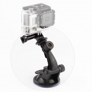 1 / 4 Inches Suction Cup Mount and Tripod Mount Adapter for Universal Action Camera