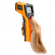 GS320 Handhold LCD Display Digital IR Infrared Thermometer