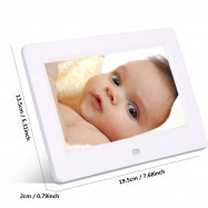 LieDao 7 Inch Digital Photo Frame LED Backlight Electronic Album Good Gift