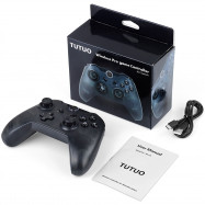 TUTUO NS - CR Wireless Game Controller with Gyro Sensor Bluetooth Gamepad Remote Joystick for Nintendo Switch / Switch Pro