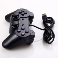 USB PS2 Wired Single Vibration PC Gamepad