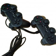 USB Double Computer Game Controller