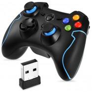 Wireless Double Shock Burst Function Gamepad