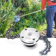 Garden Grass Trimmer Head Coil Chain Brush Cutter for Lawn Mower