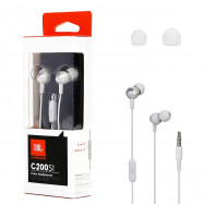 JBL C200SI Universal 3.5mm In-ear Stereo Earphones Wire Earbuds with Mic and In-line Control
