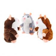 Electric Talking Plush Cartoon Hamster Interesting Kids Toys