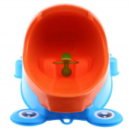 Wall - hanging Children Standing Urinal Separation Strong Sucker Toilet Training with Rotation Fan for Boy