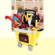 Ranxian RX1900-9 27pcs Kids Repair Tools Trolley Toys