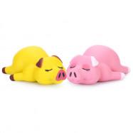 Squishy PU Slow Rising Simulate Lying Pig Toy Decoration