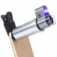 APEXEL APL - 200XM Universal 200x Zoom Microscope Magnifier Macro Lens for iPhone