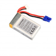 Walkera Original 7.4V 850mAh 30C 2S Lipo Battery Banana Plug for Rodeo 150 RC Quadcopter