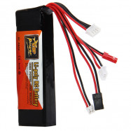 ZOP Power 11.1V 2200mAh 8C Lipo Battery for Devo JR WFLY Transmitter