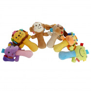Sozzy Cute Cartoon Plush Baby Handbell Toy