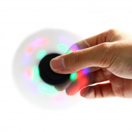 Colorful LED Gyro Stress Reliever Pressure Reducing Toy for Office Worker