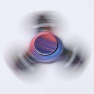 Star Sky Print Focus Toy Stress Relief Fidget Spinner