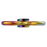 Tri-bar Rainbow Metal Fidget Spinner Anxiety Toy