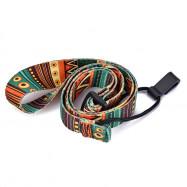 Nylon Colorful Vivid Printing Style Ukulele Strap Sling With Hook