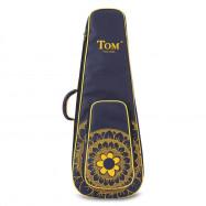 TOM JYY - C1 23 inch Ukulele Mahogany Wood Stringed Instrument with Carrying Bag