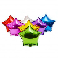 10 inch Five-pointed Star Foil Balloon Auto-Seal Reuse Party / Wedding Decor Inflatable Gift for Children