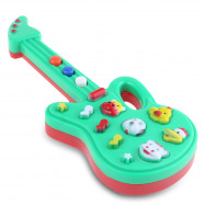 1PC Animal Button Electronic Guitar Early Educational Instrument Toy for Kid Child