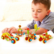 Wooden Nut Fittings Combination Set Educational Toys