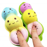 Pea Decompression Squishy Toy