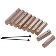 10 Notes Xylophone Glockenspiel Disconnect-type Design Percussion Instrument