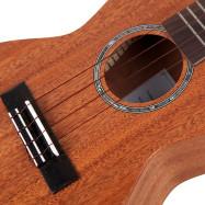 TOM TUC - 230 23 inch Acoustic Ukulele Mahogany Wood with Carrying Bag